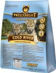 Сухой корм Wolfsblut Cold River Puppy Холодная река из лосося и форели для щенков